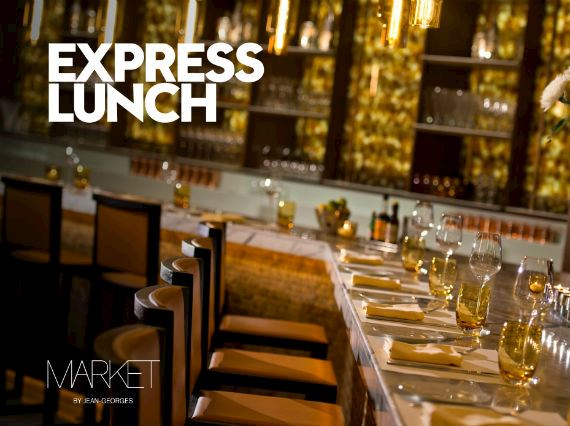 Express Lunch At Market by Jean Georges